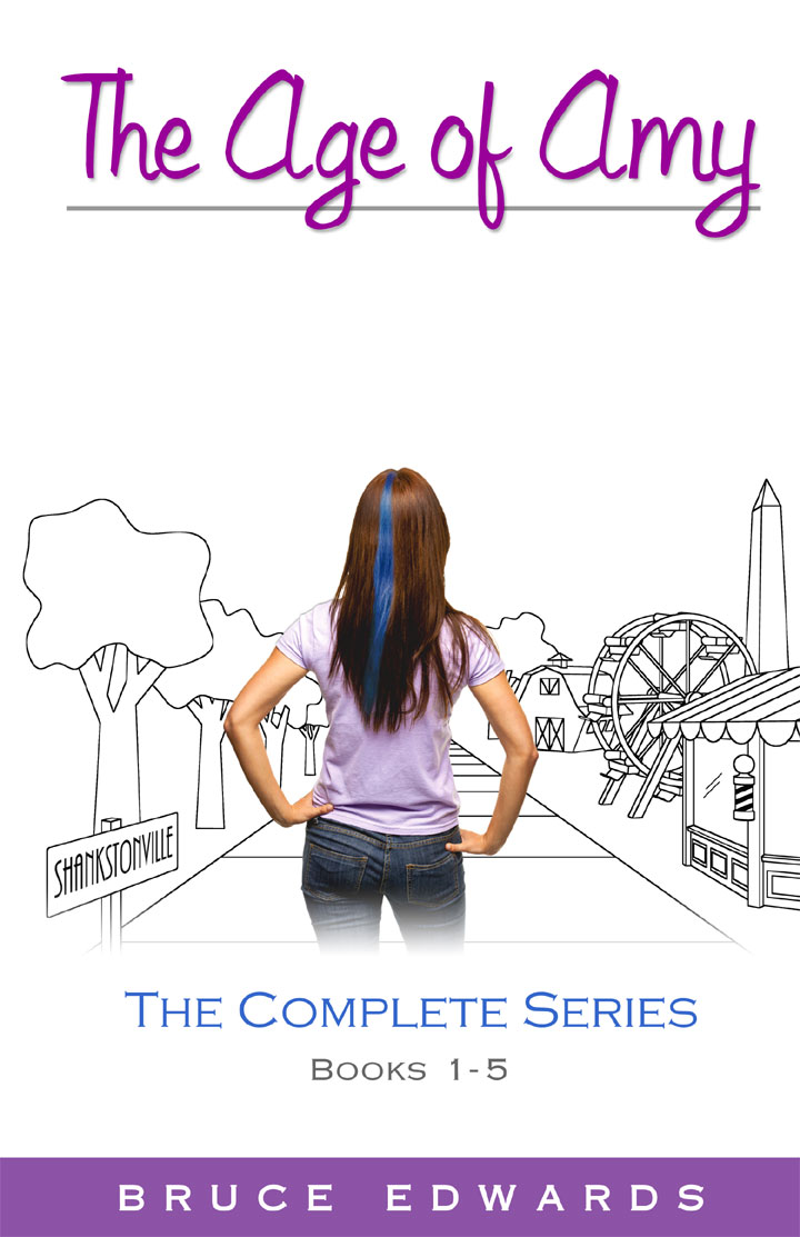 Cover - The Age of Amy: The Complete Series